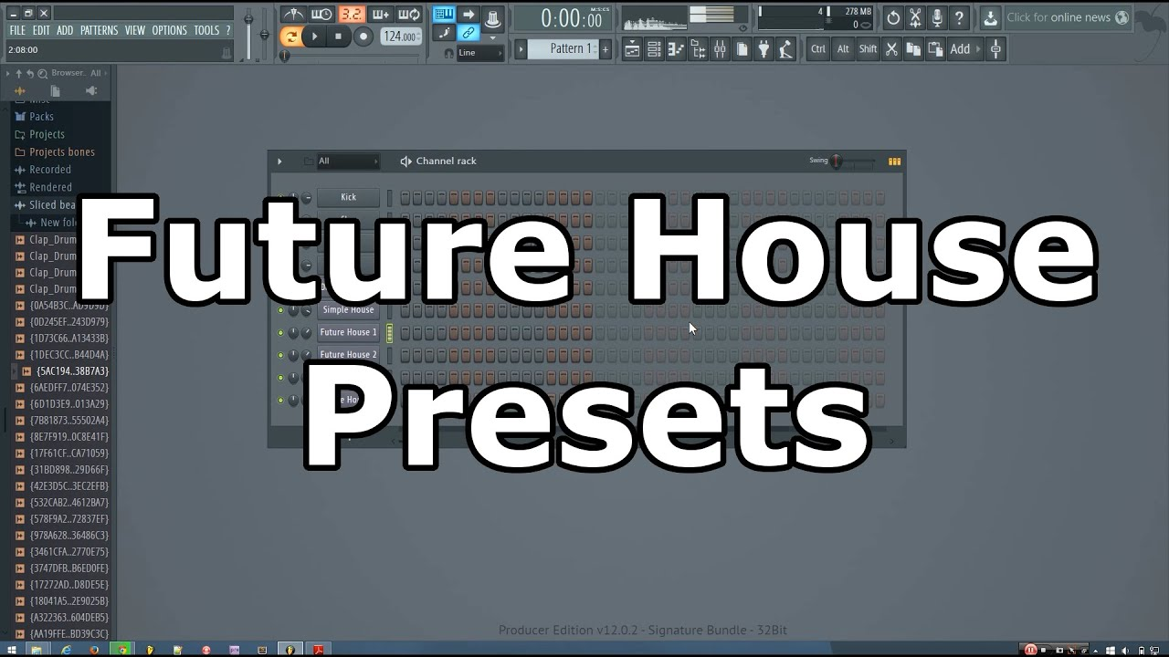 Deep House & Future House Bass Presets for FL Studio (free download)