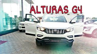 MAHINDRA ALTURAS G4|FULL DETAILED REVIEW IN HINDI |महिंद्रा अल्टुरास लक्ज़री कार इंडिया