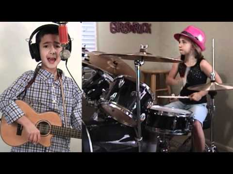 JD and Emily, age 8, cover