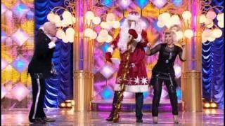 "Елена Воробей в ""Новогоднем Параде звёзд - 2009"""