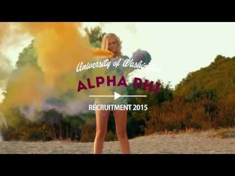 UW Alpha Phi Recruitment 2015