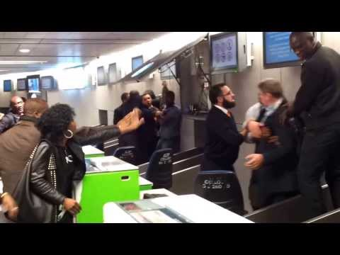 France,Paris,Charles De Gaulle Airport flight to Cameroon was cancelled.
