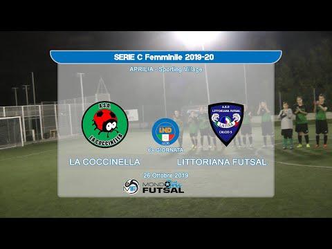 Serie C Femm.le: La Coccinella Vs Littoriana Futsal - Highlights