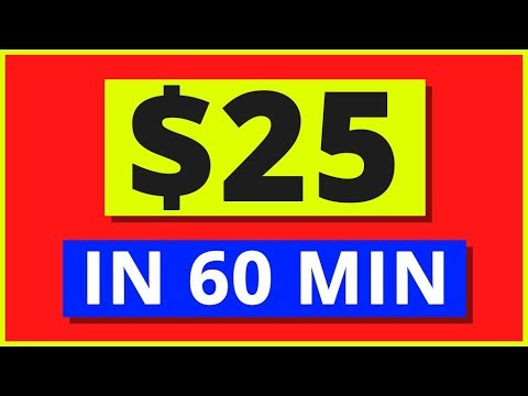 Earn $25 in 60 Min At Home - Work From Home Jobs