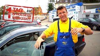 1 Tag in Holgers Werkstatt - Teil 4 | Wo ist das Kühlwasser-Leck im Benz & Holgers Entschuldigung