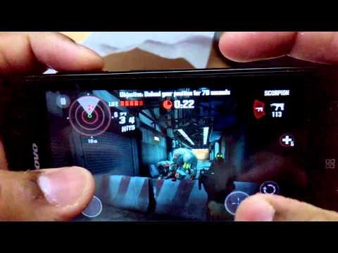 122) Dead Trigger (original) on lenovo a319 rocstar(android/mediatek/mali gpu)