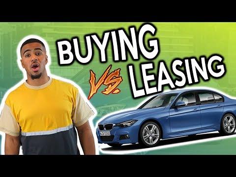 WHY I LEASED MY BMW    CAR BUYING
