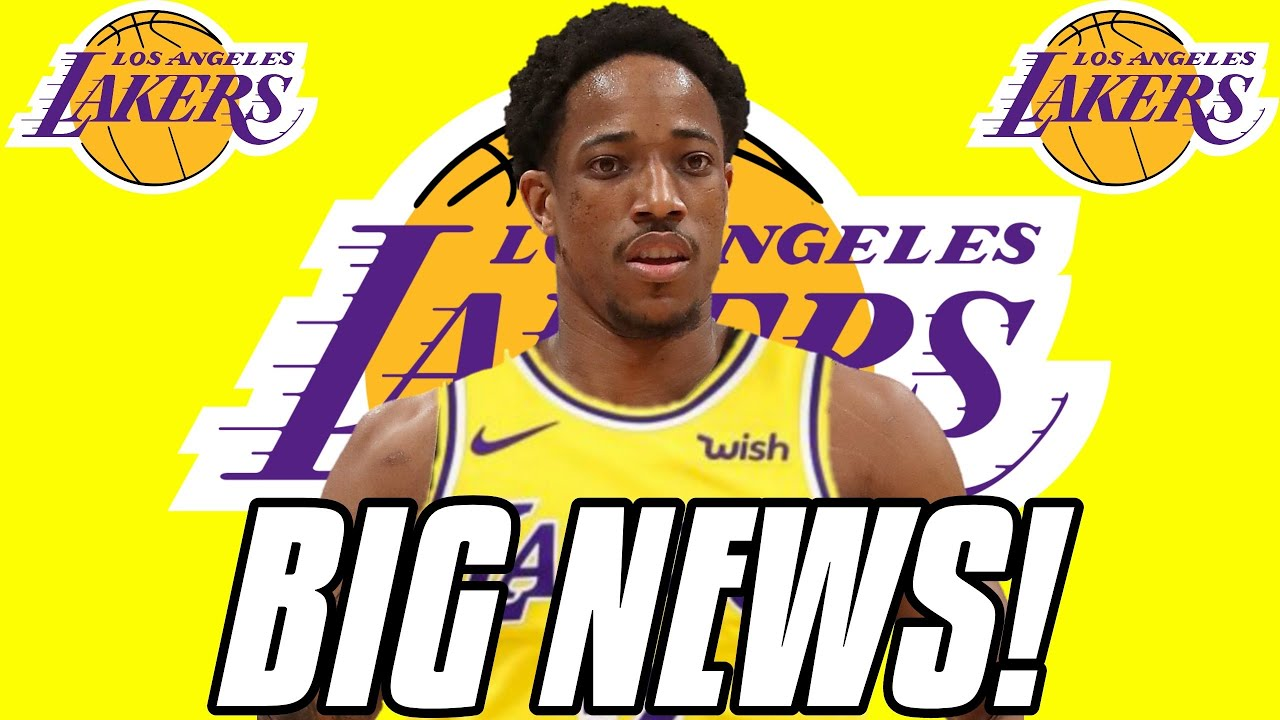 Why the Los Angeles Lakers definitely aren't signing DeMar DeRozan
