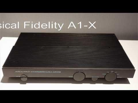 Musical Fidelity A1-X Class A amplifier