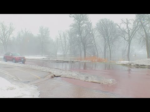 City Crews Monitor Flood Risks Near Minnehaha Creek
