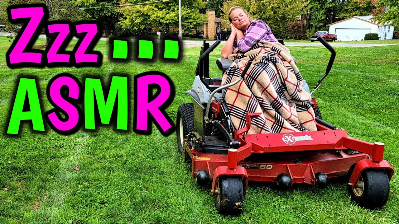 ODDLY SATISFYING LAWN MOWING VIDEO THAT WILL MAKE YOU SLEEPY!