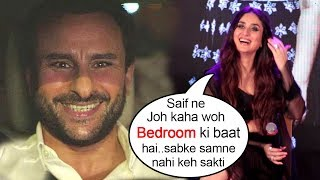Kareena Kapoor Feels Shy Talking About Saif Ali Khan's View On Tareefan Song Veere Di Wedding