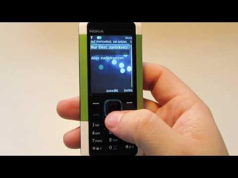 HardReset Reset / Zurücksetzen Nokia 5000 ( Hard Reset )