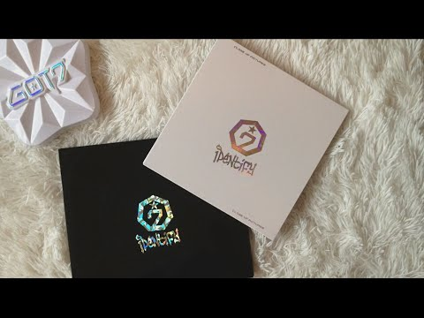 Got7 - Identify Unboxing (Both Versions + Posters)