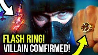 Season 5 Villain FIRST LOOK! Barry FINALLY Gets Flash Ring! - The Flash Season 5 Trailer Breakdown