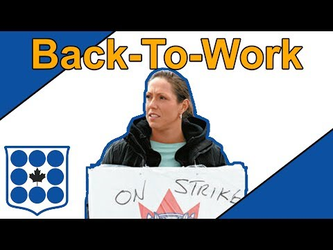 The CCLA Guide To: Back-To-Work Legislation