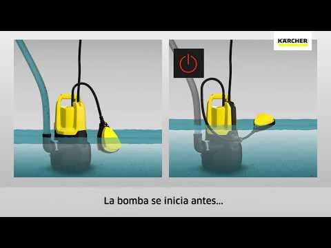 Bombas sumergibles para agua sucia Kärcher