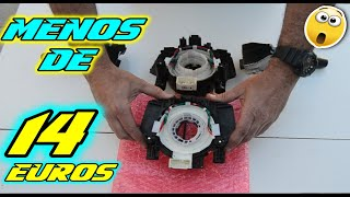 Cambiar anillo airbag a un💰PRECIO de risa😂/airbag clock spring