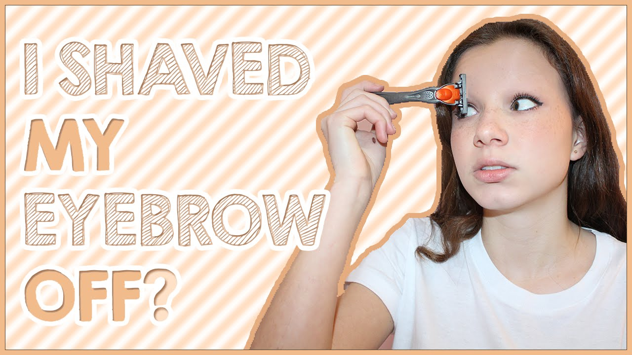 how to cut my own eyebrows