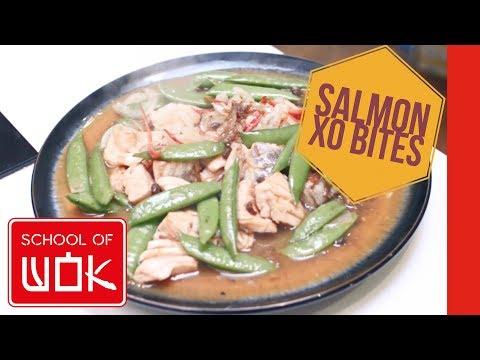 Scrumptious Chinese Salmon Stir Fry Recipe With XO Sauce | Ca Xao Xo | Wok Wednesdays