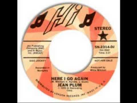 Jean Plum - Here i go again