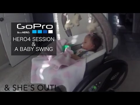 Baby's New Swing and GoPro HERO4 Session