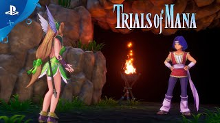 Trials of Mana - Character Spotlight Trailer: Hawkeye and Riesz (3/3) | PS4