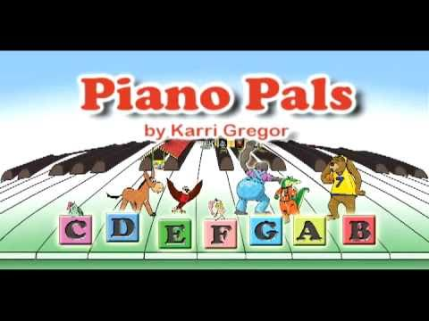 Piano Pals - Letter Names for Notes