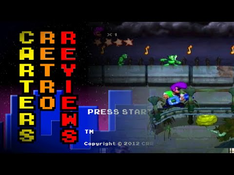 Carters Retro Reviews - Johnny Bazookatone / Sega Saturn
