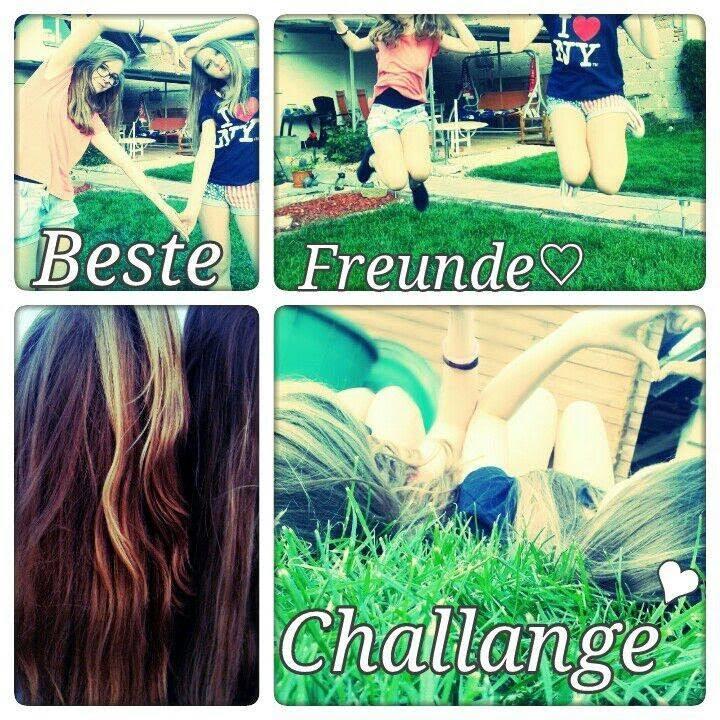 Beste Freunde Challenge