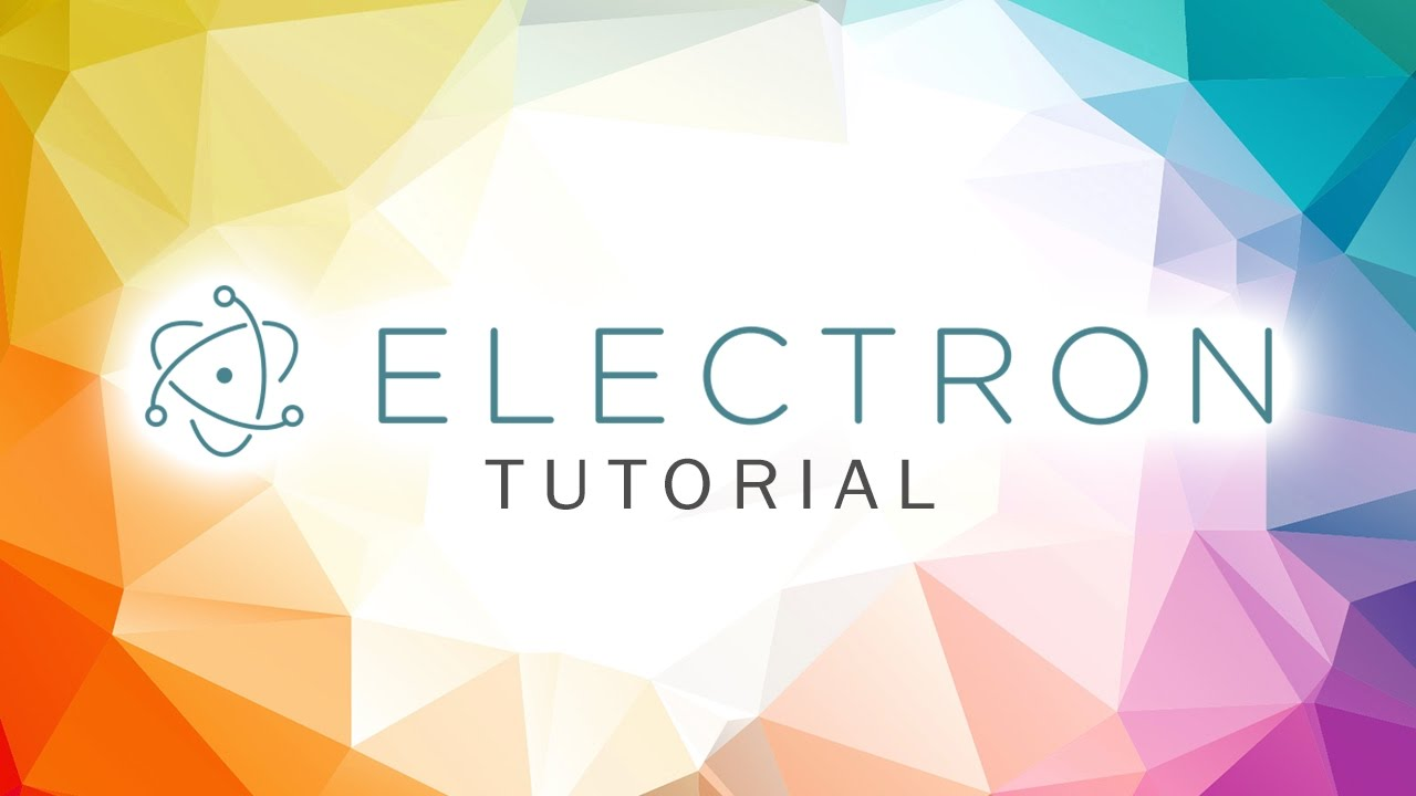 Electron Tutorial - Connect to MySQL Database