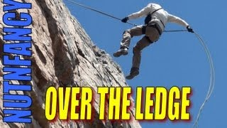 Over the Ledge_ Mountain Rappel by Nutnfancy