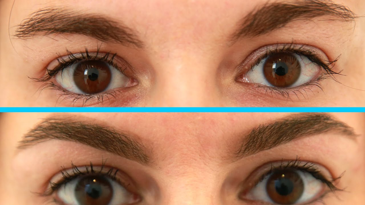 Women Get Their Eyebrows Waxed For The First Time Youtube