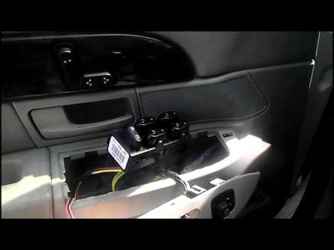 Replacing The Driver S Side Window Switch Pod On Your 2004 Mercury Grand Marquis
