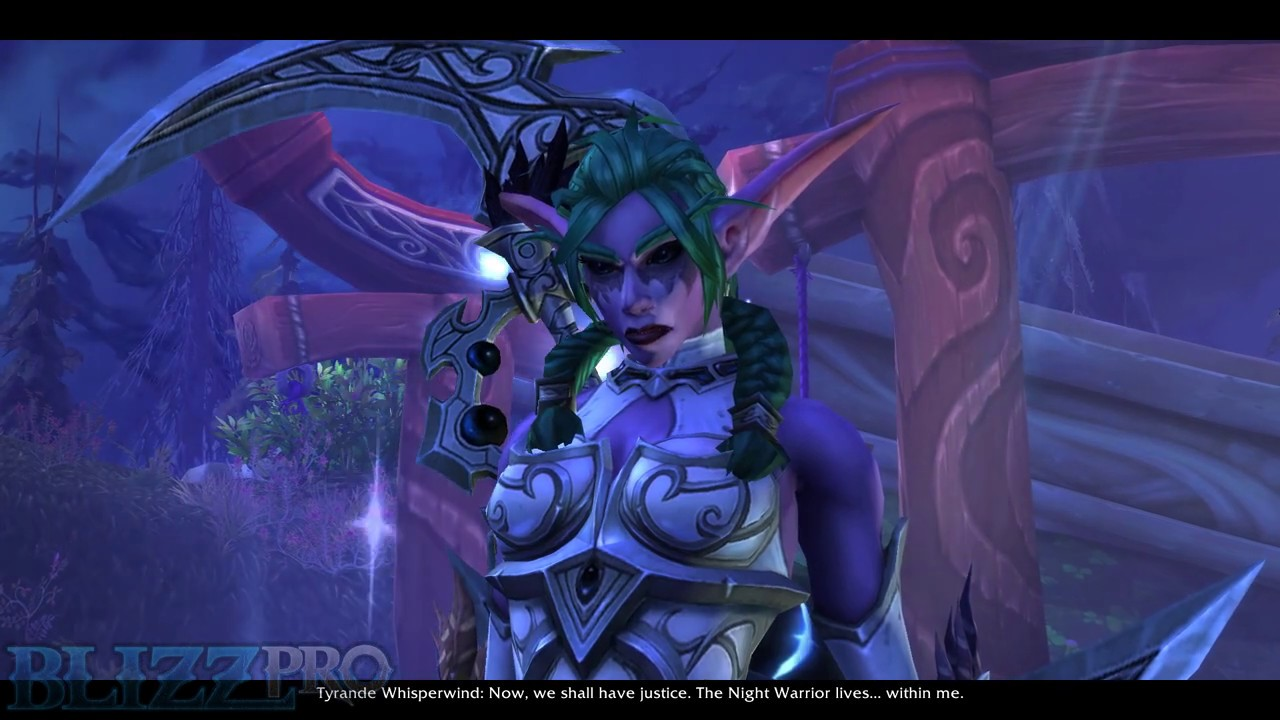SPOILERS) New Cutscene: Tyrande's Ascension to Night Warrior
