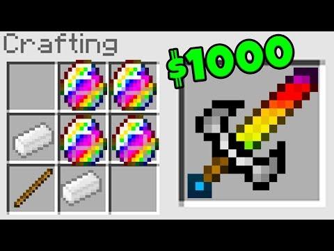 OP $1000 SWORD IN MINECRAFT * NO MODS* (OVERPOWERED PRISONS)