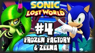 Sonic Lost World Wii U - (1080p) - Part 4 Frozen Factory & Zeena