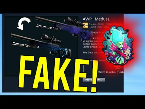 How To Make A FAKE AWP Medusa! from YouTube · Duration:  2 minutes 40 seconds