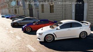 Forza Horizon 2 (Xb1) | 900+Hp V8 Evo X Build | Meet Up, 700-1200hp Street Cars Roll & Dig Racing
