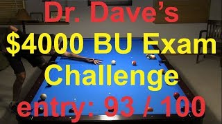 Dr. Dave - BU Exam I - 93 out of 100 - 6/25/2018