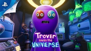 Trover Saves the Universe - Release Date Trailer | PS4, PS VR