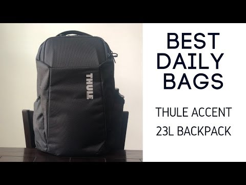 Thule Accent 23L Review - Durable and Minimal Tech Backpack