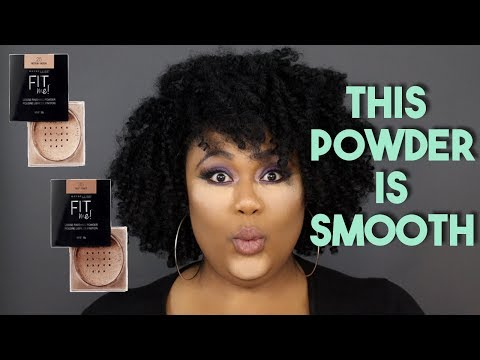 MAYBELLINE FIT ME LOOSE POWDER REVIEW