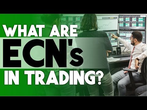 What are ECNs ? Electronic Communication Networks