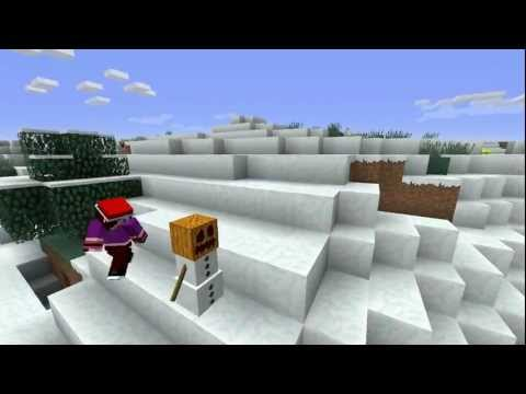 Frosty the Snowman [Minecraft Parody Song]