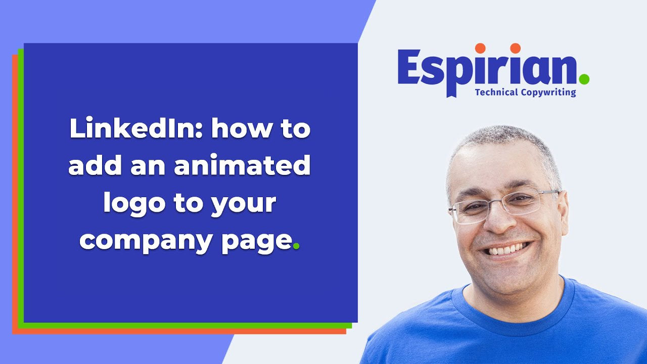 LinkedIn: how to add an animated logo to your company page (FEATURE  CURRENTLY NOT WORKING)
