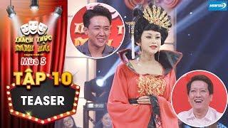 Thách thức danh hài 5|Teaser tập 10: Trấn Thành Trường Giang cười bò vì thánh lô tô Lương Trung Kiên