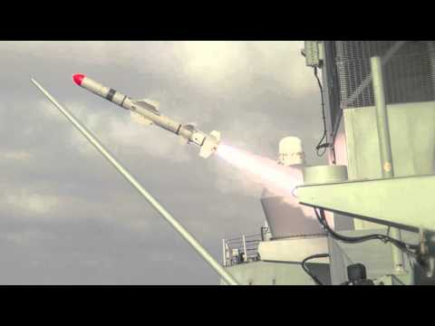 First sea-to-land missile strike by Canadian Navy | April 2016, surface-to-surface missile test