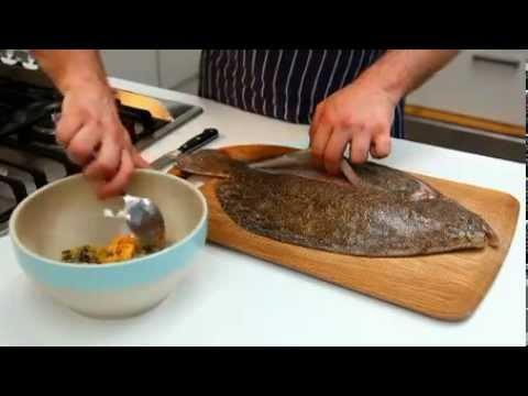 How To - Prepare Flatfish, From Jamie's America