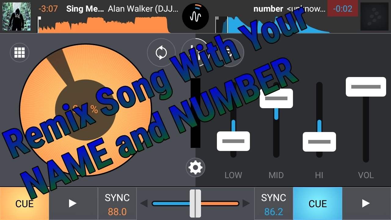 Download How To Make Your Own Dj NAME & NUMBER In Any Song And Voice Tag in Hindi Part-2 || Android Dj Mixer